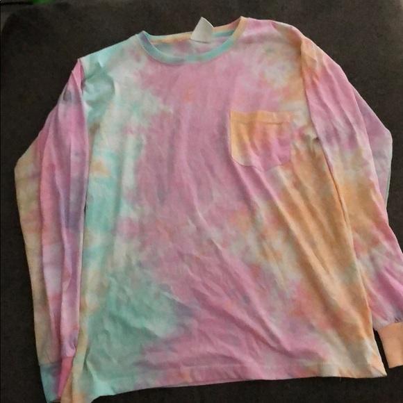 Exist Tops Tiedye Long Sleeve Shirt Poshmark